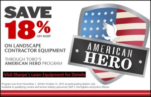 American Heroes Rebates Program - rebates specials lawn equipment