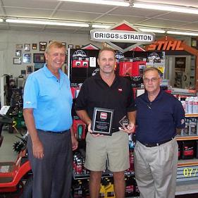 Briggs Stratton Diamond Dealer Award - Repairs