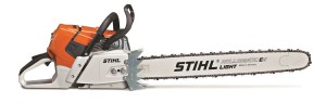 Stihl MS 661 C-M 36 in professional chainsaw