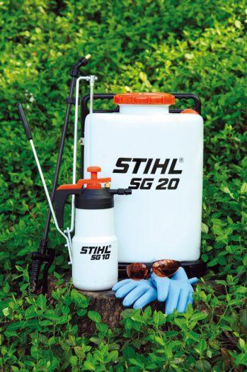 Stihl Sg 20 4 Gallon Manual Backpack Sprayer Sharpe S