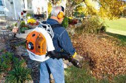 stihl equipment back pack leaf blowers