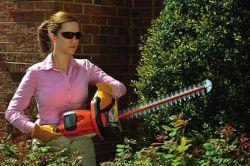 stihl equipment shrub hedge trimmer