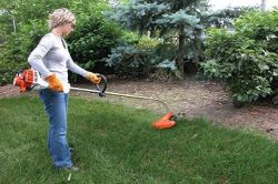 stihl equipment grass trimmer weed eater