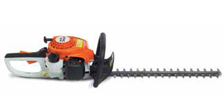 stihl hs 45 hedge trimmer trimming shrubs trees bushes. Black Bedroom Furniture Sets. Home Design Ideas