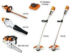 stihl equipment battery chainsaw blower trimmer