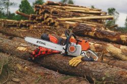 stihl equipment landscaper commercial professional chainsaws
