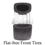 Flat Free Front Tire