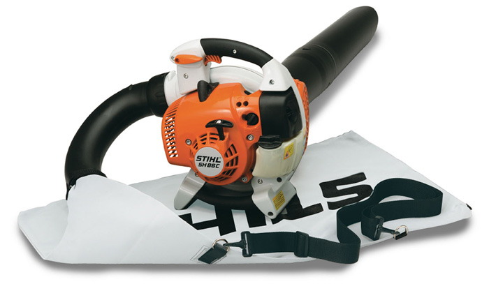 SH 86 Easy To Start Shredder Vac-Blower Handheld
