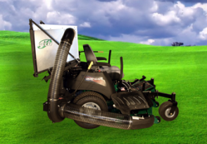 Peco Dump From The Seat Zero Turn Baggers Make Easy Work Of Leaves And Grass