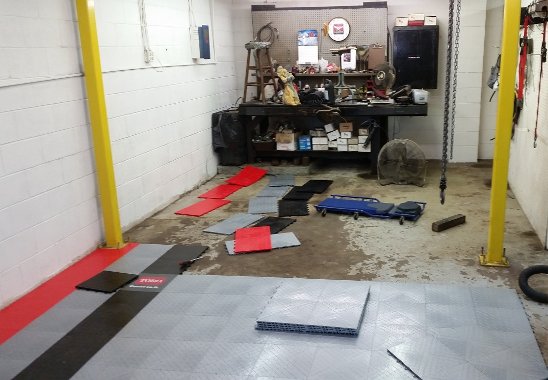 Service Shop Floor Project 2014