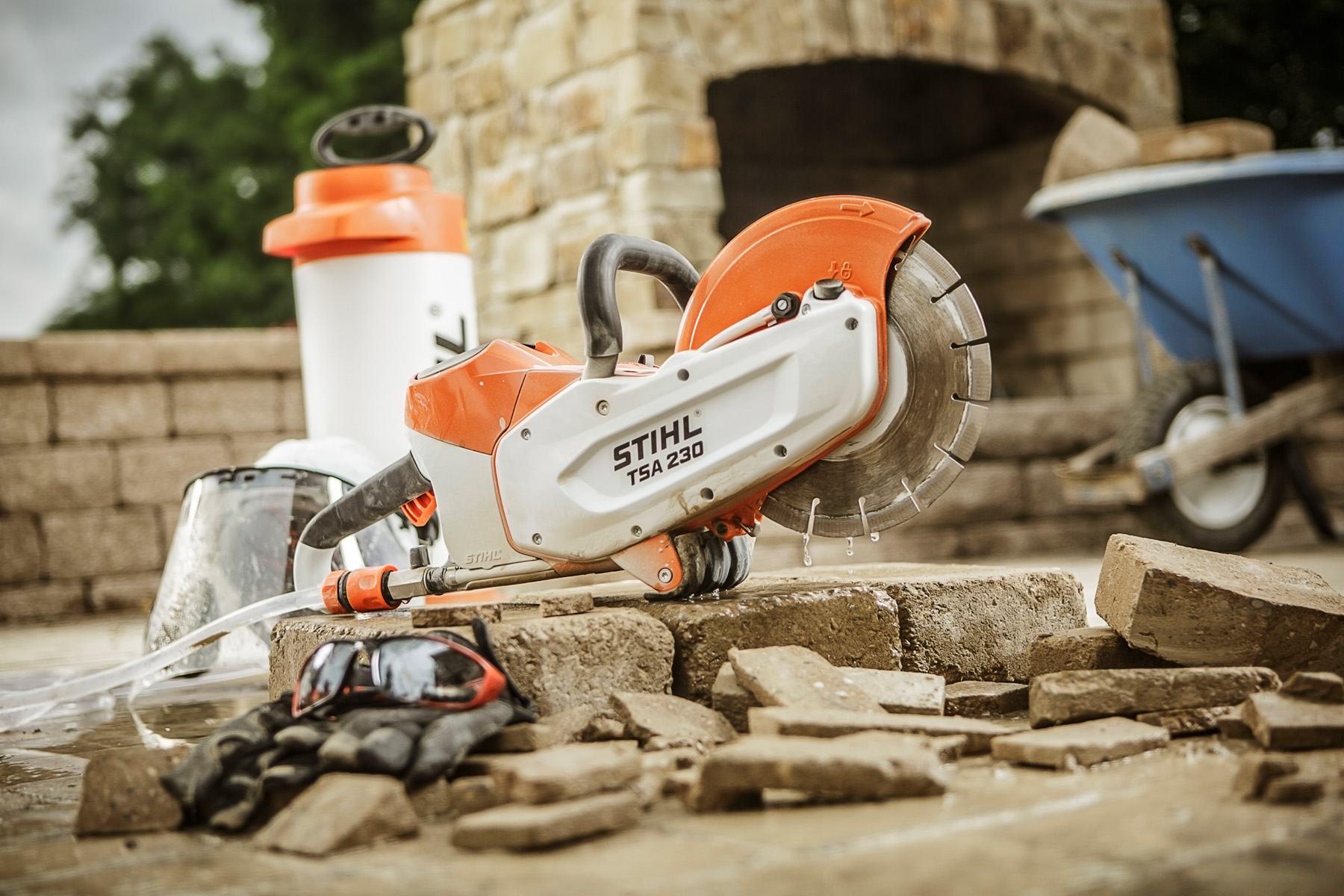 Stihl Tsa 230 Battery Operated Cut Off Saw Cordless