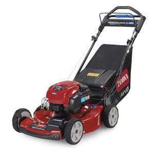 All wheel drive mower