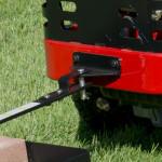 Toro hitch kit standard on TimeCutter Z's