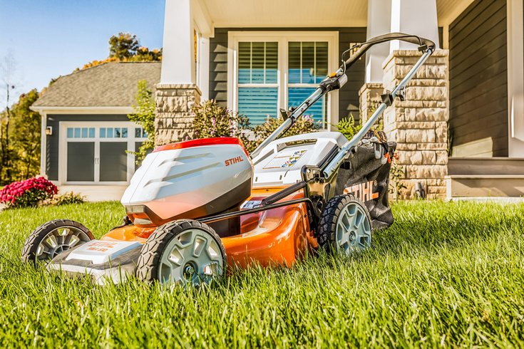 Stihl Rma 510 Battery Powered Mower Sharpe S Lawn Equipment